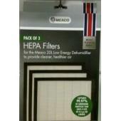 HEPA filtru komplekts Meaco 20L Platinum modelim